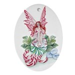 Mint Fairy Ornament (Oval)