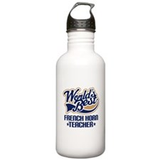 French Horn Teacher Water Bottle