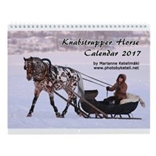 Knabstrupper Horse Calendar 2014