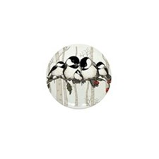 Chickadee Family Mini Button (100 pack)