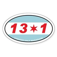 13.1 Chicago Half Marathon Decal