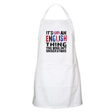 English Thing Apron
