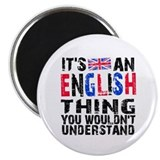 English Thing Magnet