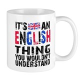 English Thing Small Mug