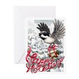 Chickadee Delivery Greeting Card