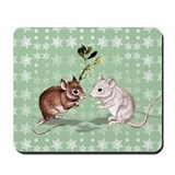 'Holly and Ivy' Mousepad