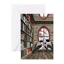 A Chickadee Christmas 3 Greeting Cards (Pk of 10)
