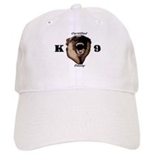 CK9D with dog Baseball Cap