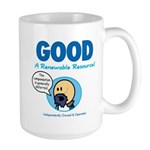 GOOD: A Renewable Resource Large Mug