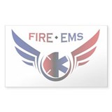 Flying Fire & EMS Stickers