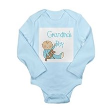 Grandma's Boy Long Sleeve Infant Bodysuit