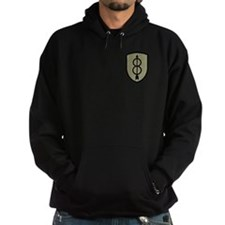 8th Infantry Division Hooded Shirt 13