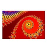 Seahorse Spiral Postcards (Package of 8)