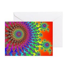 Rainbow Fireworks Greeting Cards (Pk of 20)