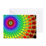 Rainbow Pinwheel Greeting Card