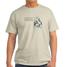 Stuffed Bird Light T-Shirt