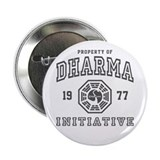 "Property of Dharma 77 2.25"" Button (10 pack)"