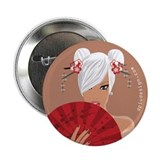 "Funny Harajuku girl 2.25"" Button (10 pack)"