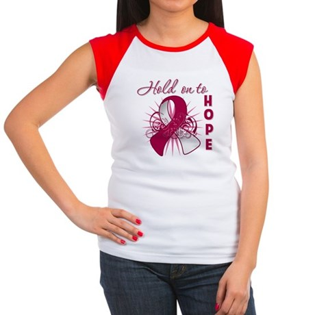 Head and Neck Cancer Women's Cap Sleeve T-Shirt