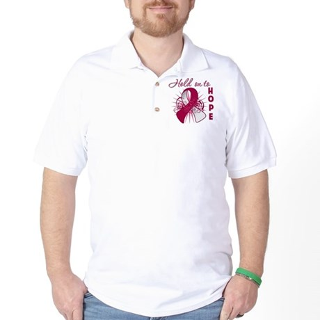 Head and Neck Cancer Golf Shirt
