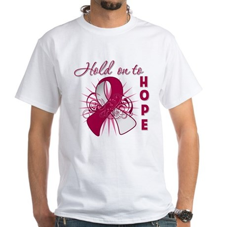 Head and Neck Cancer White T-Shirt