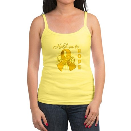 Childhood Cancer Jr. Spaghetti Tank