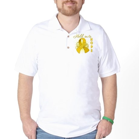 Childhood Cancer Golf Shirt