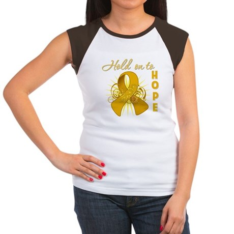 Appendix Cancer Women's Cap Sleeve T-Shirt
