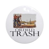 Oilfield Trash Ornament (Round)
