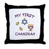 My First Chanukah Throw Pillow