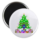 "Christmas and Hanukkah 2.25"" Magnet (10 pack)"