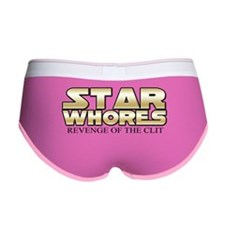 Star Whores Revenge of the clit Women's Boy Brief