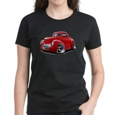 1941 Willys Red Car Tee