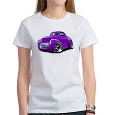1941 Willys Purple Car Tee