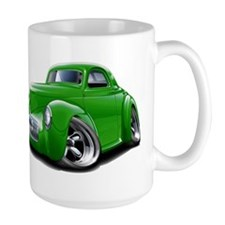 1941 Willys Green Car Mug