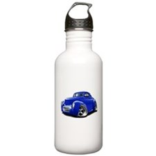 1941 Willys Blue Car Sports Water Bottle