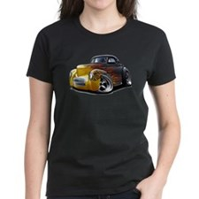 1941 Willys Black Flames Tee