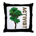 Activist Throw Pillow
