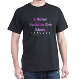 I Color Outside the Lines T-Shirt