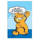 "Garfield ""I'm Undertall"" Large Poster"