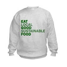 Eat Good Food Sweatshirt