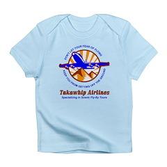 TakaWhip Airlines Infant T-Shirt