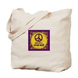 Peace, Love, &amp;amp; Social Work Tote Bag