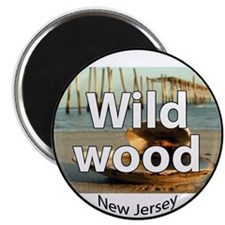 Cute Wildwood Magnet