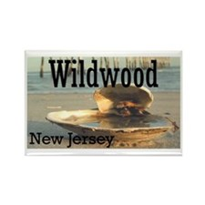 Cute Wildwood Rectangle Magnet
