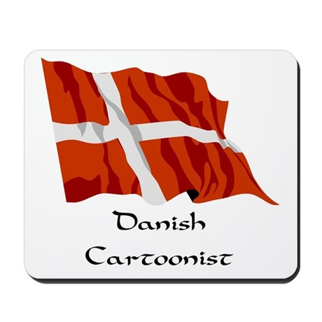 Danish Cartoonist Mousepad