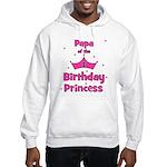 Papa of the 1st Birthday Prin Hooded Sweatshirt