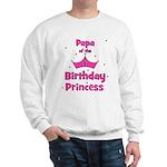 Papa of the 1st Birthday Prin Sweatshirt