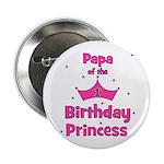 "Papa of the 1st Birthday Prin 2.25"" Button"