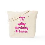 Papa of the 1st Birthday Prin Tote Bag